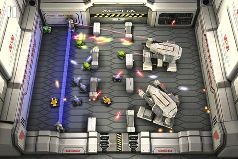 Tank Hero: Laser Wars [Скачать / App Store / Обзор ]