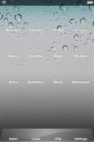 Transparency сделает Ваши иконки приложений невидимыми для iPhone, iPod, IPad [Cydia / Обзор / Скачать]