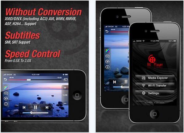 Смотрим видео без конвертации с AVPlayer на  iPhone, iPod, iPad [Скачать / AppStore / Обзор]
