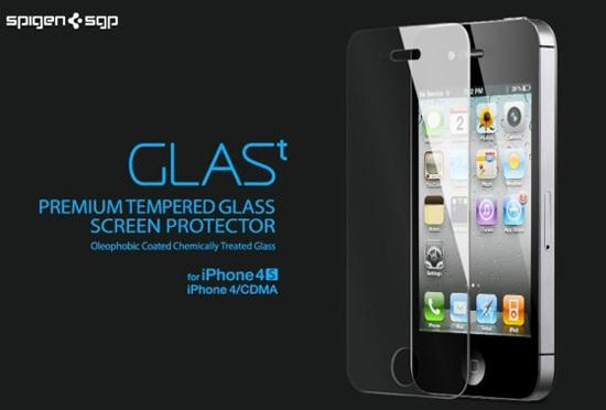 Новый аксессуар - защитная пленка GLAS.t для iPhone 4S