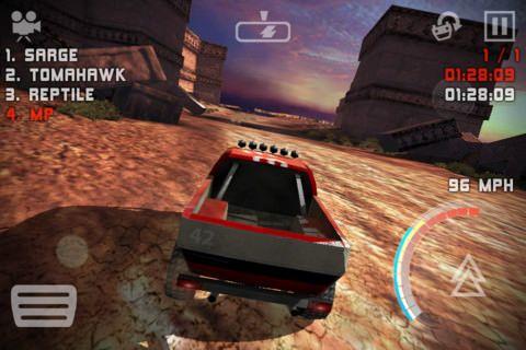 Uber Racer 3D Sandstorm [Скачать / App Store / Обзор]