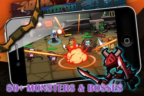 Heroes vs Monsters [Скачать / App Store / Обзор]