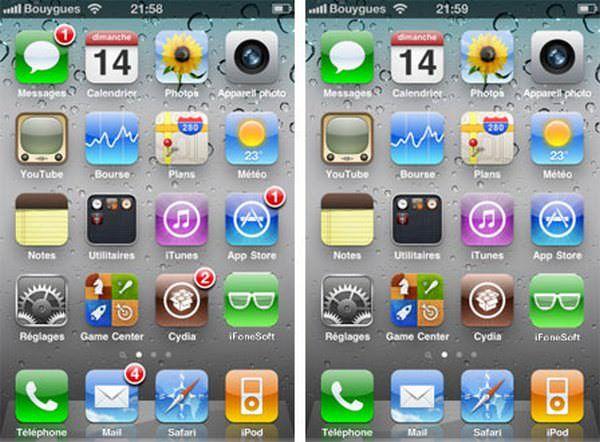 Скачать твики No AppStore Badges, No Cydia Badges и OTA Begone для удаления уведомлений в iOS [Cydia / Обзор]