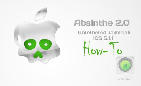 Как сделать отвязанный джейлбрейк iOS 5.1.1 при помощи Absinthe 2.0 [Инструкция / Скачать / Видео]