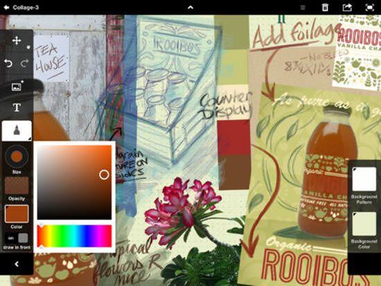 Adobe Proto и Adobe Collage - новые помощники для творческой реализации на IPad [Обзор / Скачать / App Store]