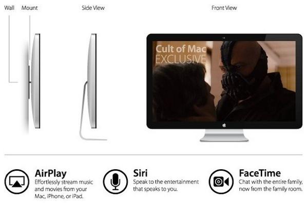 Новые подробности о телевизоре от Apple
