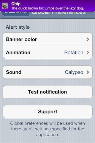 Как изменить внешний вид уведомлений в iOS с помощью джейлбрейк-твика Chip [Cydia / Инструкция / Скачать]