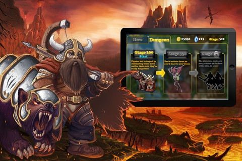 Hero of Magic для iPhone, iPod и iPad [App Store / Обзор / Скачать]