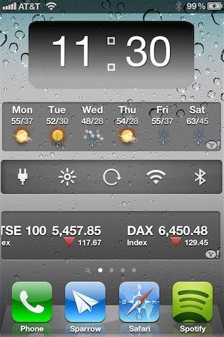 HomeSpringPage добавит страничку для виджетов Dashboard X на Springboard [Скачать / Обзор / Cydia]
