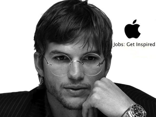 Съемки фильма Jobs: Get Inspired начались. Эштон Катчер в роли Стива Джобса [Фото]
