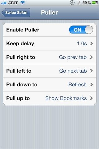 Swipe Safari расширяет функционал стандартного браузера iOS [Cydia / Обзор / Скачать]