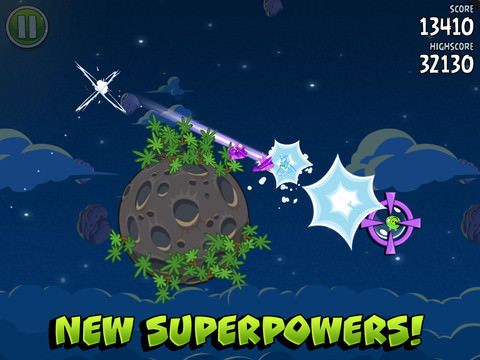 Angry Birds Space скачали более 50 млн. раз