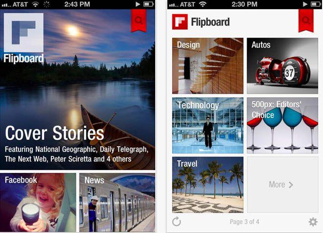 Flipboard - лучшая замена RSS-ридерам [AppStore / Обзор / Скачать]