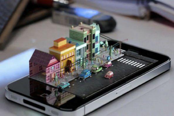 iPhone 5 с голографическими возможностями! [Концепт]