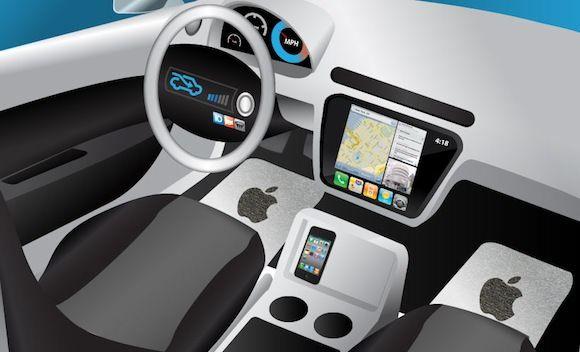 До появления iPhone, Apple планировала создание автомобиля iCar