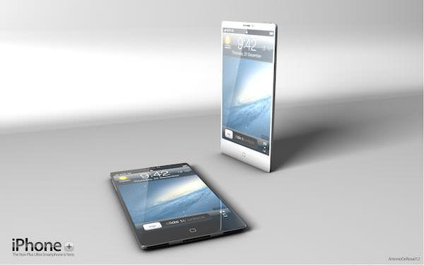 Не iPhone 5 от Apple, так iPhone Plus от ADR Studio [Концепт / Фото]