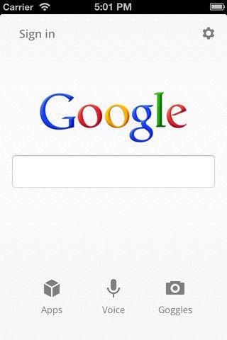 Официальное приложение для поиска в Google, еще не Chrome, но уже - кое-что [AppStore / Обзор / Скачать]