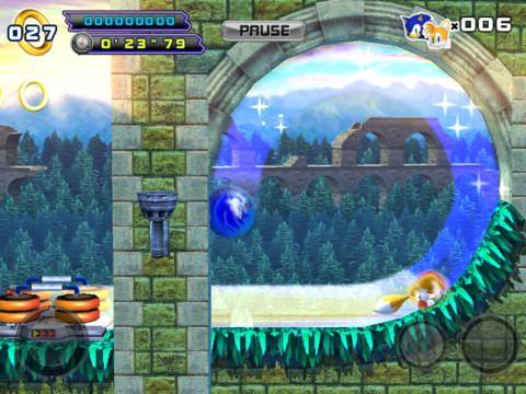 Sonic The Hedgehog 4 Episode II - новые приключения Соника на iOS [Скачать / Обзор / App Store]