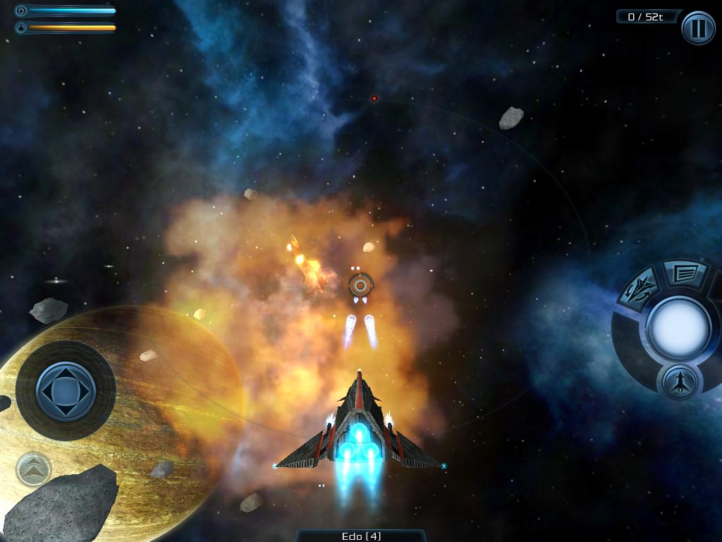 Galaxy On Fire 2 для iPhone и iPad [Скачать / Обзор / App Store]