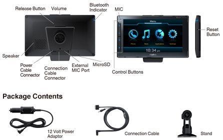Clarion Next Gate - революционный навигатор для iPhone [Обзор / Аксессуары]