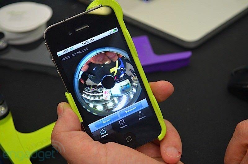 iPhone + Kogeto Dot Spot = панорамное видео 360°! [Аксессуары]