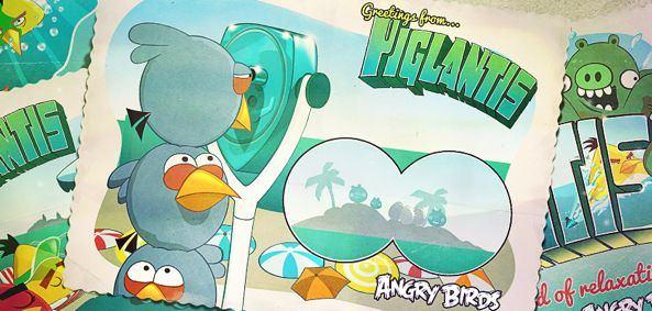 Скачать Angry Birds Season в подводном мире