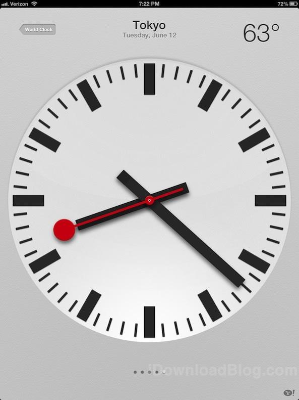 Apple заплатила  млн за дизайн часов в iOS 6
