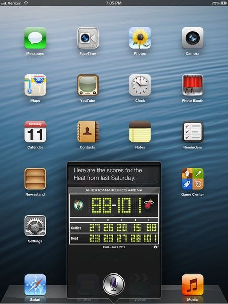 Новое в iOS 6: Siri на new iPad 3 [Фото]