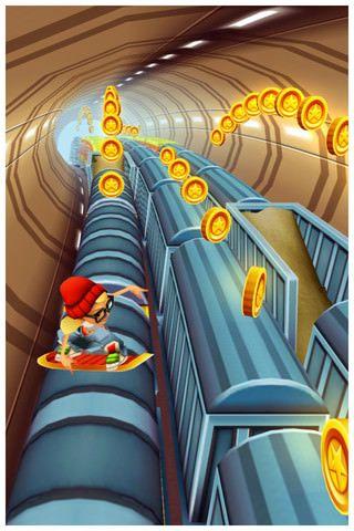 Скачать Subway Surfers для iPhone, iPod и iPad [AppStore / Обзор]