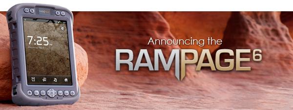 "Rampage 6 - первый ""неубиваемый"" планшет на Android OS от SDG Systems"