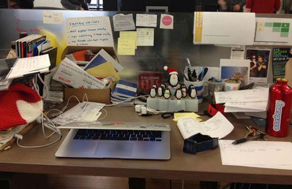 Фото рабочих мест Стива Джобса, Марк Цукерберга, Билла Гейтса и других