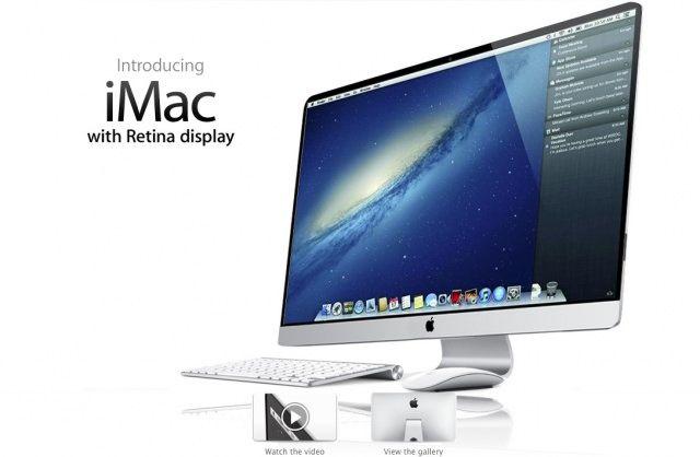 Обновленный iMac получит экран Retina