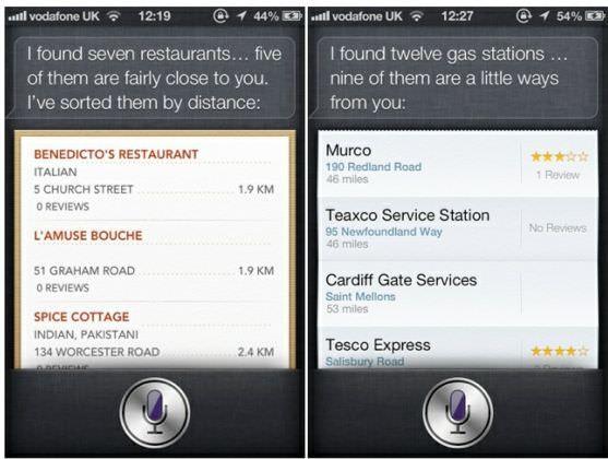 Новое в iOS 6: Siri начинает поддержку поиска заведений по всему миру