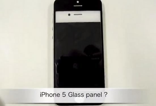 Появились новые запчасти от iPhone 5, на этот раз переднее стекло [Видео]