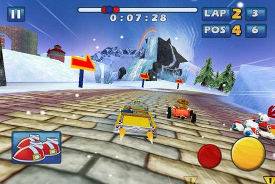 Игра Sonic Racing
