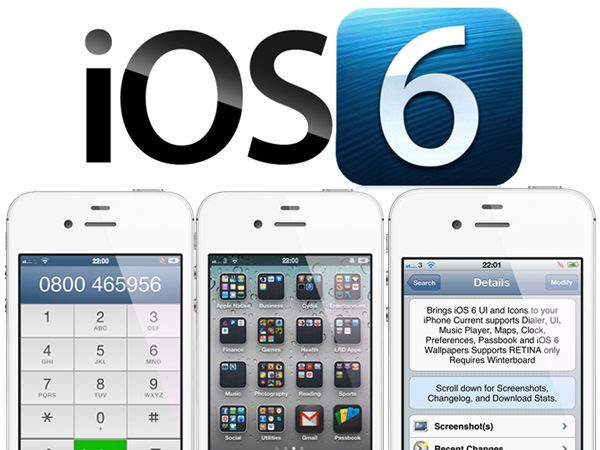 iOS 6 Theme для Winterboard превратит iOS 5 в iOS 6 [Cydia / Обзор / Скачать]