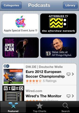 Apple выпустила новое бесплатное приложение Подкасты