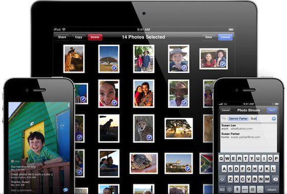 Новое в iOS 6: Общие Фотопотоки
