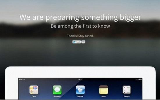 Почтовый клиент Sparrow скоро появится на iPad