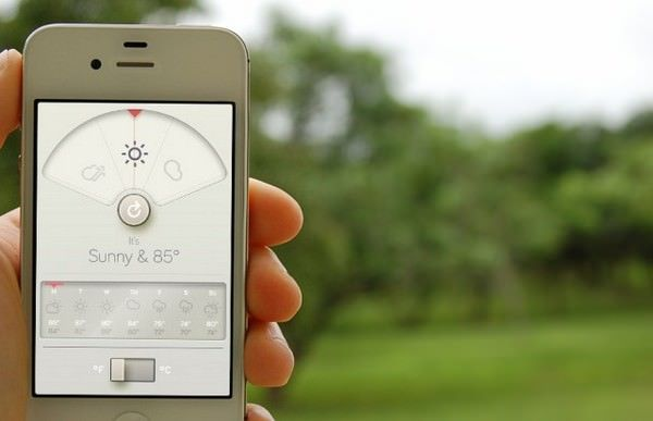 Wthr - красивый и стильный прогноз погоды для iPhone