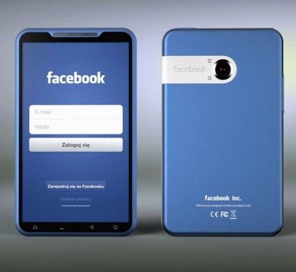 Как может выглядеть Facebook смартфон [Концепт]