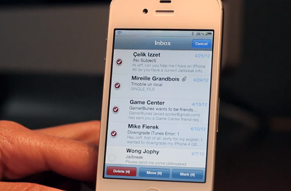 С твиком Check работать с почтой на iPhone станет удобнее [Cydia / Обзор / Скачать]