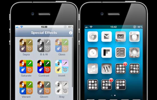 Твик Aicon добавит различные эффекты к иконкам iPhone, IPad, iPod Touch