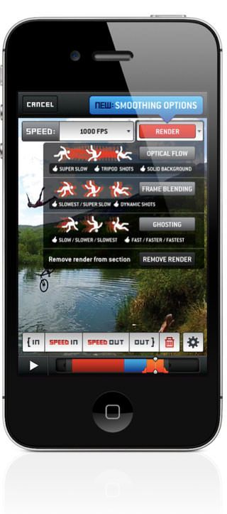 SloPro 2.0 - видеосъемка с частотой 60 кадров в секунду на iPhone или IPad