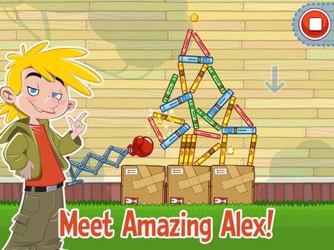 Скачать Amazing Alex от создателей Angry Birds в AppStore