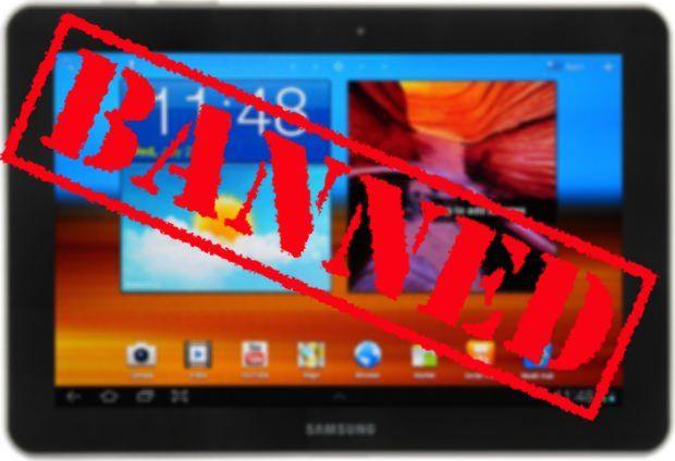 Суд вторично отказал Samsung относительно предписания по Galaxy Tab