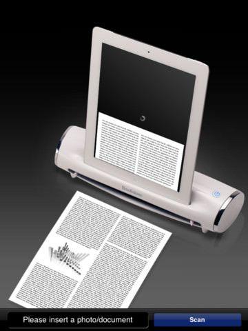 Компактный сканер Brookstone iConvert Scanner для Вашего iPad [Аксессуары]