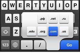 Твик ChromeURL увеличит функционал клавиатуры Chrome на iPhone [Cydia / Обзор / Скачать]