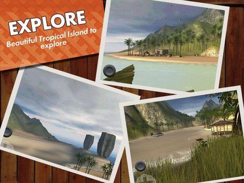 Devil Island. Найти сокровища и выжить. Игра для iPad
