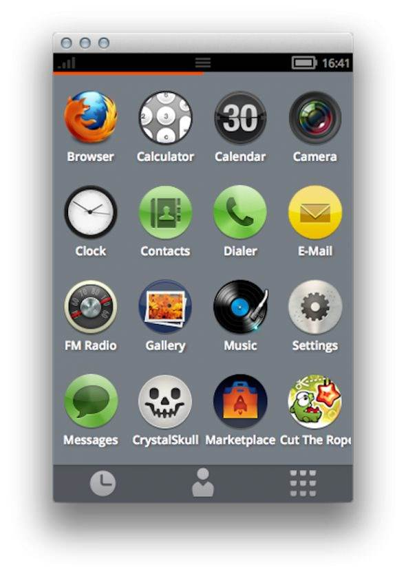 Firefox OS от Mozilla. Первые скриншоты [Фото]